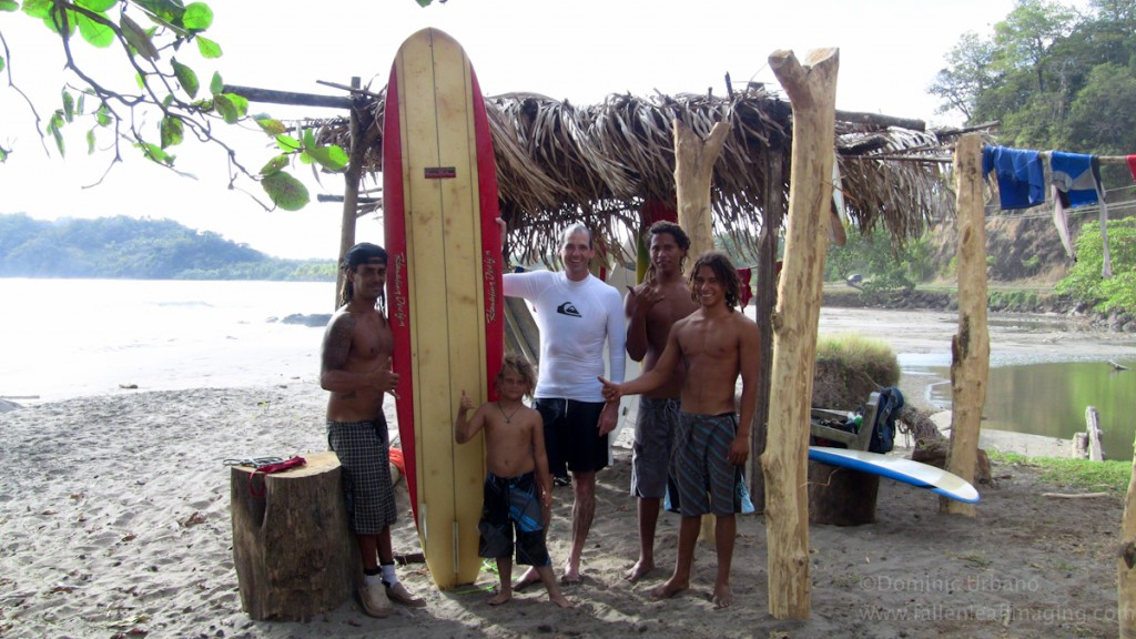 Carrillo Beach surf school