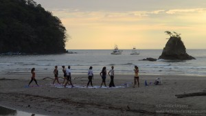 Chillasana Yoga at Sunset